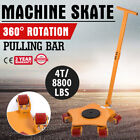 Machinery Mover Multi Species Steel Machine Skate Dolly Mover
