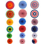6x Fashion Patriotic Decor for Presidents Day Independence Day and Party Decor