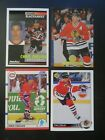 CHRIS CHELIOS card lot (4) Montreal Canadiens & Chicago Blackhwaks