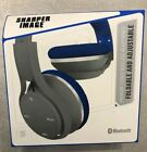 SHARPER IMAGE HEADPHOES WIRELESS BLUETOOTH  AJDUSTABLE NEW IN BOX SBT 657