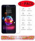 3 Pack 9H Tempered Glass Screen Protector For LG K30 K40 K10 K8 X Power Aristo 2