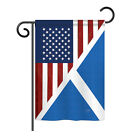 US Scotland Friendship - Impressions Decorative Garden Flag - G158390-BO