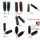 USA Ship FXCNC Motorcycle Footpeg Foot Pegs Pedal Universal Modfied Rearset Pegs