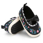 Newborn Baby Infant Girl Crib Shoes Soft Sole Prewalkers Anti-slip Sneakers Pram