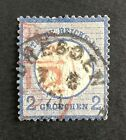 GERMANY COLLECTION REICH EMPIRE 1872 Mi 20 USED DBL CDS INCL RED 2.49c NO RESERV