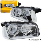 For 2006-2010 Dodge Charger Chrome Housing Headlight Clear Corners Lamp Assembly