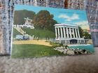 VINTAGE POSTCARD PORTICO OVER PLYMOUTH ROCK PLYMOUTH, MASS.