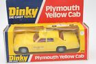 DINKY TOYS 278  * PLYMOUTH YELLOW CAB  * OVP