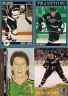 Dallas Stars Mike Modano 4 Card Lot Score H&P and Hockey Card Day in USA