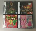 Factory Sealed Nintendo DS Game Lot Crazy Bones Puss in Boots Pirates New