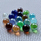 5 10pcs 22mm Glass Beads Marbles Kid Toy gift crafts Fish Tank Decorate