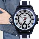 P02 Quartz Watch Silicone Strap Waterproof Quartz Analog Watch for Male NC