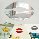 Acrylic Wall Mirror Stickers 3d Lip Art Mural Decal Home Rome Decor Removable