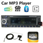 DAB+1 Din Car Radio Stereo Audio RDS FM AM App Functions USB TF ISO MP3 Player
