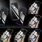 For iPhone e XR XS MAX XS Case Luxury Ultra Slim Shockproof Silicone Clear Cover