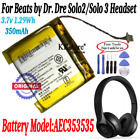 AEC353535 Battery For Beats by Dr. Dre Solo2 Solo 3 Headset 350mAh 3.7v 1.48Wh