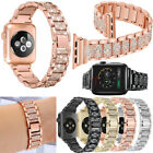 Men Women Luxury iWatch Diamond Band For A pple Watch Series 4/3/2/1 38 to 44mm