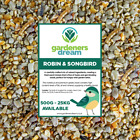 GardenersDream Robin & Songbird Mix - Nutritious Wild Bird Food For Garden Birds