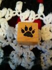 PSX Claw Paw Rubber Stamp