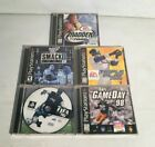 Lot of 5 PlayStation Sports Games Madden 2000 and More *See Details