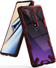 For OnePlus 7 Pro Case | Ringke [FUSION-X] Clear PC Back Shockproof Bumper Cover
