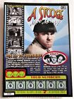 3 Stooges Instant SV Lottery Ticket Moe Howard