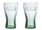 BRAND NEW SET OF 2, 4, 6, 8,10 -Vintage Genuine Coke Coca Cola Green Glass $20.0  on eBay
