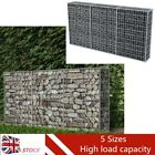 NEW Outdoor Garden Patio Gabion Basket Wire Retaining Wall Steel Fencing 5 Sizes