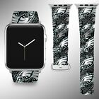 Philadelphia Eagles Apple Watch Band 38 40 42 44 mm Fabric Leather Strap 1 $29.97 USD on eBay