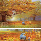 """26W""""x18H"""" AUTUMN LEAVES by PETER ELLENSHAW - WINNIE THE POOH - CHOICES of CANVAS"""
