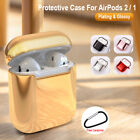 Plating Charging Silicone Skin Case For Apple AirPods Cover Earphone Protective
