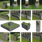 Garden Gabion Planter Steel Rectangle/Hexagonal/Square Plant Basket Post Outdoor