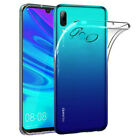 For Huawei Y6 Y7 Pro Y9 2019 Electroplating Clear Case Soft Silicone Back Cover