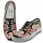 NIB Bradford Exchange Women's Betty Boop Retro Lace Up Sneakers Sizes 6-10 $29.99 USD on eBay