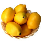 6*Limes Lemon Lifelike Artificial Plastic Fake Fruit Imitation Home Fresh Decor