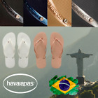 Original Genuine Havaianas Slim With  Crystal Women Many Colours and Sizes