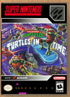 TMNT 4 Turtles in Time - SNES - Replacement Case *NO GAME*