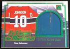 2017 Leaf ITG In The Game Used Le Forum De Montreal Tom Johnson #4/7 CANADIENS!!