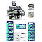 Genuine MAXELL SONY Silver Oxide Watch Batteries [All Sizes] 1 2 3 4 5 10 x QTY