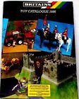 """BRITAINS TOY SOLDIERS DEETAIL 1986 full size CATALOG 9x11"""" CONSRUCTION SPACE WW2"""