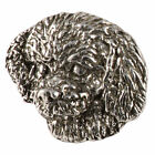 Creative Pewter Designs Toy Poodle Dog Lapel Pin or Magnet, D144