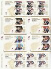 GB  2012  OLYMPIC AND PARALYMPIC GAMES MINIATURE SHEETS