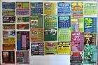 North Carolina Instant SV Lottery Tickets,  35 different, neat collectable