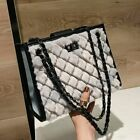 Convertible Small Faux Fur Single Shoulder Bag Crossbody Chain Purse Cute Bag