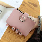 USA Womens Wallet Leather Zip Coin Purse Clutch Handbag Small Mini Card Holder image