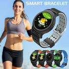 Bluetooth 4.0 Smart Watch Heart Rate Monitor Bracelet Wristband For IOS Android