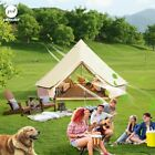 5M / 6M Ultra Airy Two Doors Family Camping Party Bell Tent Canvas Glamping Yurt