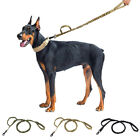 Retractable nylon rope Dog Leash Leads For large dog Heavy duty coupler