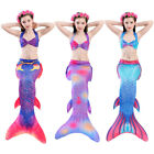 Внешний вид - Kids Girls Boys Mermaid Tail for Swimming Fairy Tales Cosplay Bikini Pool Party
