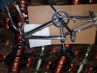 Petty Redline bike frame with seat forks handlebars all in picture